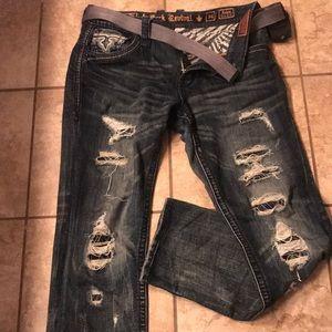 Rock Revival Jeans 34 waist